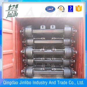 16t Trailer Square Axle BPW Design Axle for Sale From Factory Directly pictures & photos