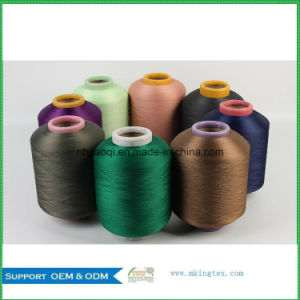 100% Polyester Weaving Yarn DTY with 300d/288f SD SIM pictures & photos