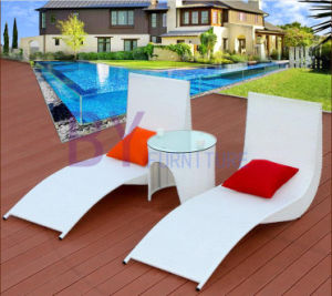 Q Bend Type Outdoor Leisure Beach Pool Terrace Chaise Lounge pictures & photos