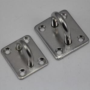 Stainless Steel Square Eye Plate, Square Pad Eye pictures & photos