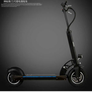 2017 Popular Two Wheel Folding Electric Kick Foot Scooters pictures & photos