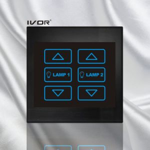 2 Gangs Dimmer Switch in Acrylic Outline Frame (SK-LT100-D2) pictures & photos