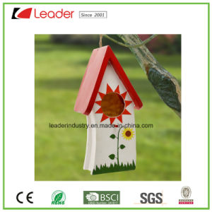 Hot-Sales Resin Birdhouse for Patio and Garden Decoration pictures & photos