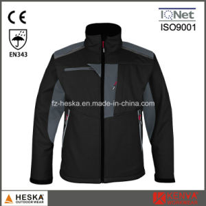 OEM Work Softshell Men 3laye Jacket pictures & photos