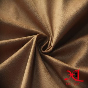 Bronzed Suede Fabric Spandex Suede Fabric for Dress/Garment pictures & photos