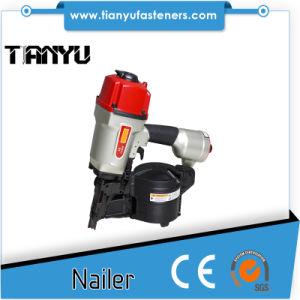 Pallet Siding Pneumatic Tools 15/16 Degree Coil Nail Gun pictures & photos