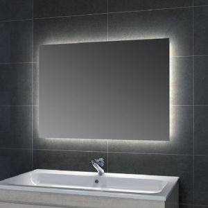 Wall Mounted Hotel Bathroom Frameless Large Lighted Backlit Vanity Mirror pictures & photos