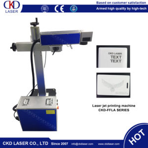 Letters Fiber Laser Marking Machine for Mobile Case pictures & photos