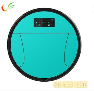 Anti-Dropping Self Charging 3000mAh Battery Gyro & Route Plan Vacuum Cleaner Robot, Robotic Cleaner pictures & photos