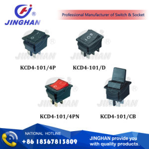 Kcd4-101 Welder Switch/ Self-Locking Push Button Switch pictures & photos