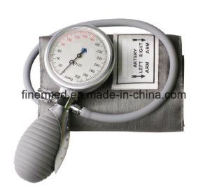 Handheld Aneroid Blood Pressure Palm Sphygmomanometer pictures & photos