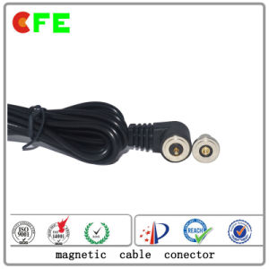 Round Magnetic Cable Connector for Power pictures & photos