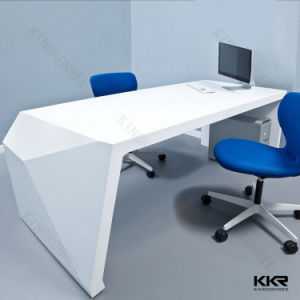 Kkr Modern Acrylic Solid Surface Stone Office Conference Table pictures & photos