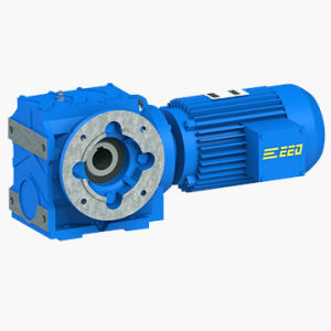 Heliacal Worm Right Angle Gearbox pictures & photos