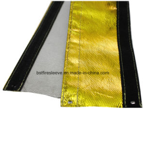 Heat Shroud Gold Line Hose Protection Aluminized Sleeving pictures & photos