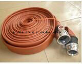 """High Quality 2.5"""" Double Rubber Fire Hose with Coupling in Fire Fighting pictures & photos"""