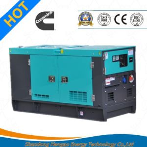 Self-Starting Canopy Type Diesel Genset pictures & photos