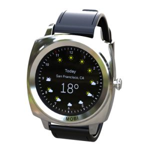 1.2 Inch IPS Touch Screen IP54 Smart Watch with Dual Bands Bluetooth & Dynamic Heart Rate, Sleep Monitoring & Gravity Processor. pictures & photos