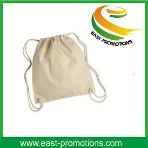 Wholesale Medium White Drawstring Cotton Gift Bag pictures & photos