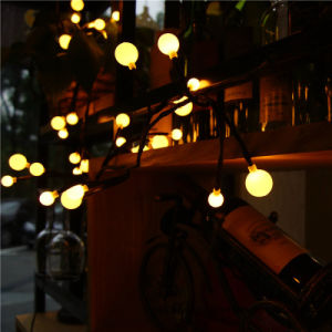 High Quality Festival Warm White Ball LED String Light Low Voltage for Decoration pictures & photos