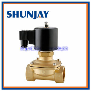High Quality Low Price 2W250-25 Brass Solenoid Valve 220V AC for Water pictures & photos
