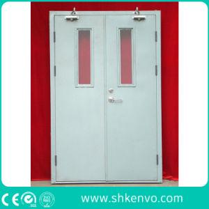 UL Certified Fire Rated Glazed Metal or Steel Exit Door pictures & photos