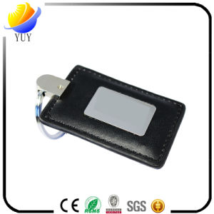 Special and Can Be Customized Shape Leather Metal Key Chain pictures & photos