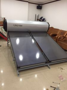 House Pressure Flat Plate Solar Water Heater pictures & photos