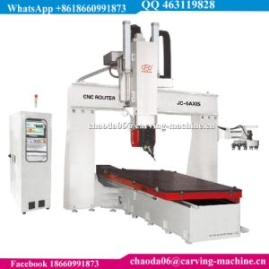 Simultaneous 5 Axis CNC Wood Carving Machine Multi Head 4 Axis CNC Machine Multi Head CNC Router Multi Spindle CNC Router Multi Head 5 Axis CNC Machine 4 6 8 10 pictures & photos
