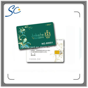 Cr80 Size PVC Contact IC Card