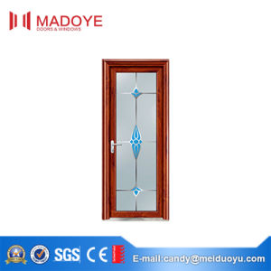 Five-Star Hotel Aluminum Bathroom Doors with Classical Pattern pictures & photos