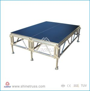 Acrylic Glass Stage, Aluminum Assemble Stage pictures & photos