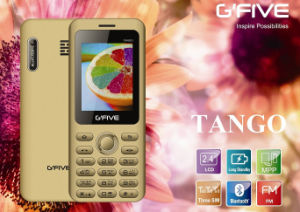 Gfive Tango Feature Phone with FCC, Ce, 3c
