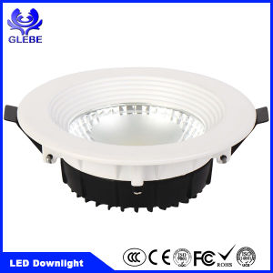 Hot Sale 30W Recessed Round Shape 120V LED Ceiling Light pictures & photos