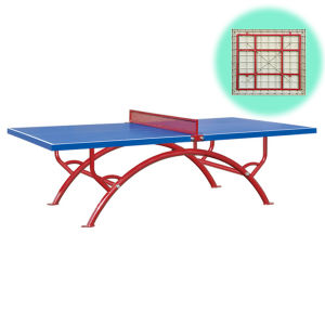 Table Tennis Equipment Outdoor SMC Table Tennis Table Ping Pong Table pictures & photos