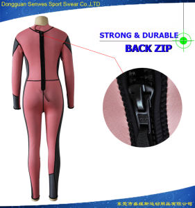 Woman Neoprene Full Body Scuba Diving Snorkeling Surfing Suit