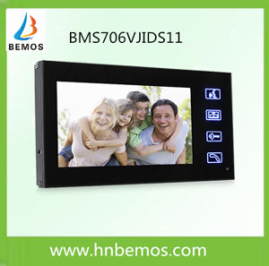 Touch Screen 7 Inches Home Security Interphone Video Door Phone Doorbell with Remote Controller pictures & photos