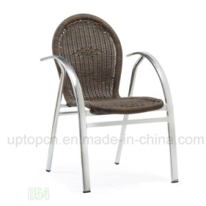 Outdoor Garden Rattan Chair with Armrest (SP-OC385) pictures & photos