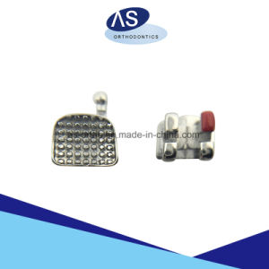 Orthodontic Monoblock Roth Brackets MIM One Piece Metal Brackets pictures & photos