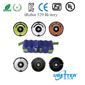 Ubetter 14.4V3000mAh Ni-MH Battery for Roomba Battery/ Irobot Roomba Battery pictures & photos