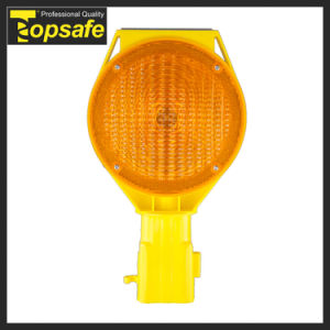 Amber PC Lens 6V Battery Flashing LED Warning Lights pictures & photos