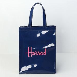 Waterproof PVC Canvas Medium Size Blue Shoulder Bag (A0122-1) pictures & photos