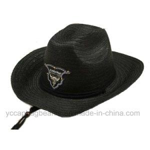 Fashion Cheap Wholesale Men Hats Paper Cowboy Straw Hat pictures & photos