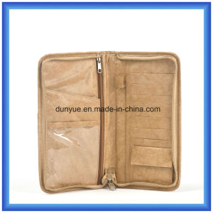 Factory Make New Material DuPont Paper Wallet Bag, Promotional Gift Bag Tyvek Paper Purse Hand Bag pictures & photos
