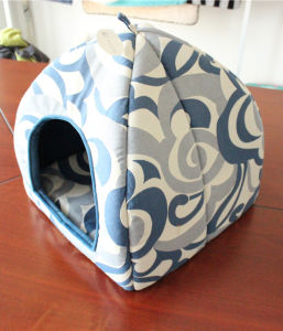 Folded Pet Supplies Dog Cat Cushion Bed Sofa Tent House pictures & photos