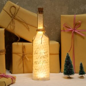 LED Wine Star Bottle Cork Lights Warm White Starry String Lights Battery Powered Best Decorations for Bottles Jars