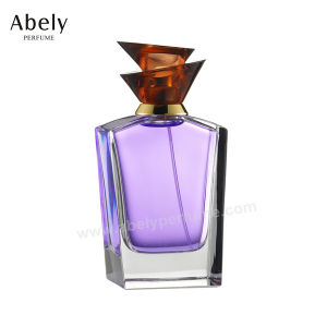 Unique Polygon Luxury Perfume Glass Bottle for Man pictures & photos