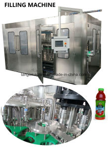 Complete Vegetable Fruit Drink Juice Processing Machinery Production Line for Pet Bottle pictures & photos