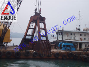 Two Rope Mechanical Dredging Grab for Discharging Sand Mud pictures & photos
