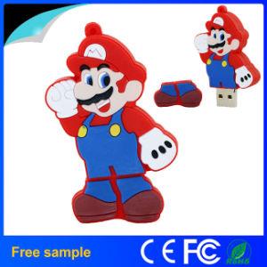 Cartoon Design PVC Mairo Flash Memory 1-128GB USB Disk pictures & photos